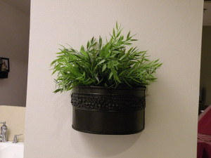 Hanging plant container