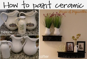How to paint ceramic