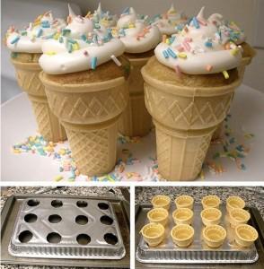 My I-thought-I-had-an-original-idea ice cream cone cupcake pan
