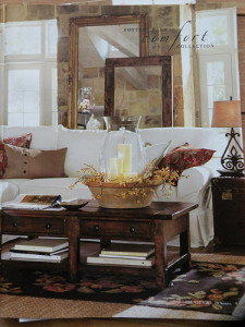 Pottery Barn inspiration