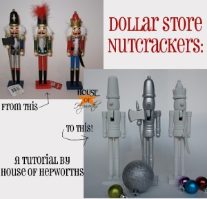 Novelty Nutcrackers, Dollar Store Style
