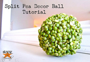 {Split} Peas & thank you – the decor ball edition