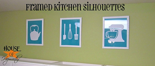 Lindsey copied Lindsay || book page wreaths and kitchen silhouettes