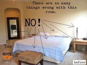 Against better judgement, I'm showing you my Bedroom