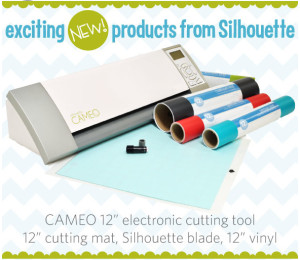 GIVEAWAY: Silhouette CAMEO + Starter Kit!!