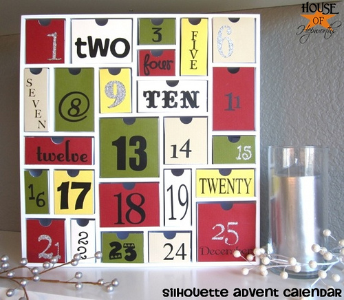 The cutest Advent Calendar you ever did see