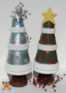 Terra Cotta Christmas Tree craft