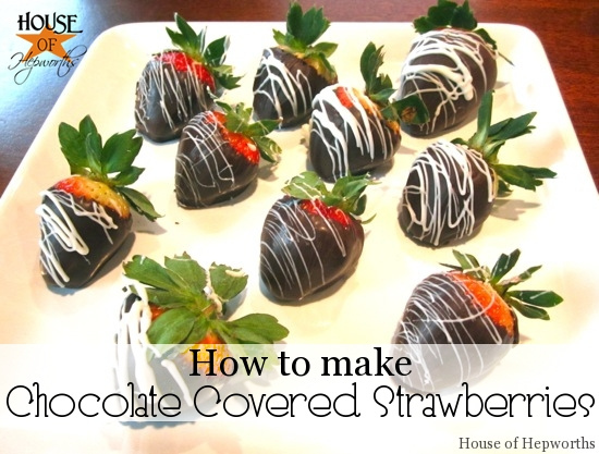 Make your own Chocolate Covered Strawberries