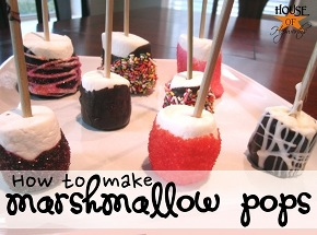 A plethora of marshmallow pop trifecta