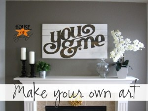 You & Me custom artwork tutorial
