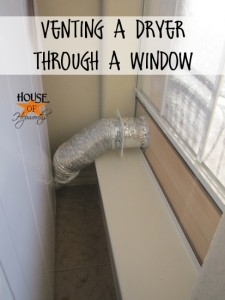 Safety, venting, & questions answered.  A follow-up to the dryer vent situation.