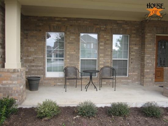 Porch vent update & questions about decorating a porch