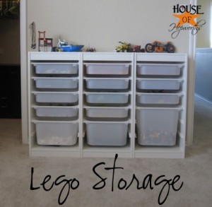 Awesome LEGO storage for the brick enthusiast