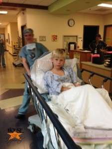 Our son just had a whirlwind appendectomy