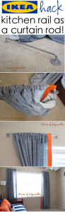 Two hacks in one post (curtains for my boy's room)