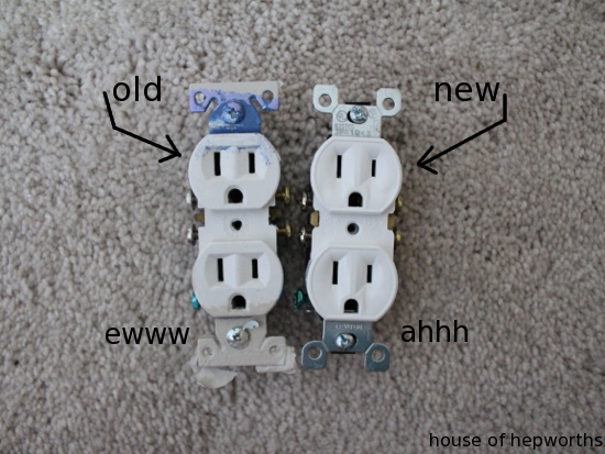 replacing switches and outlets - a small update with a big impact ...
