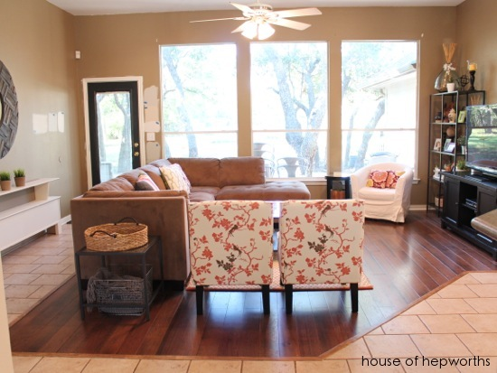 A family room update
