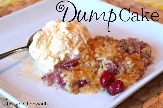 Dump Cake {recipe}