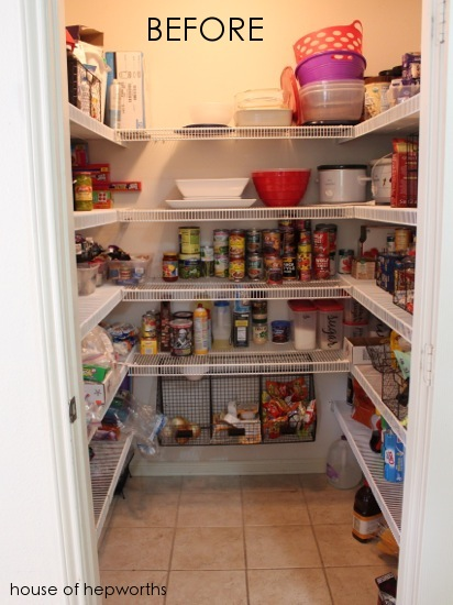 Attrayant Less Is More [removing Shelving In The Pantry]