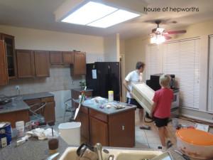 Let the kitchen demo begin!