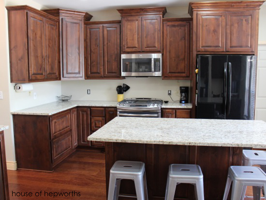 Our kitchen renovation is finished!