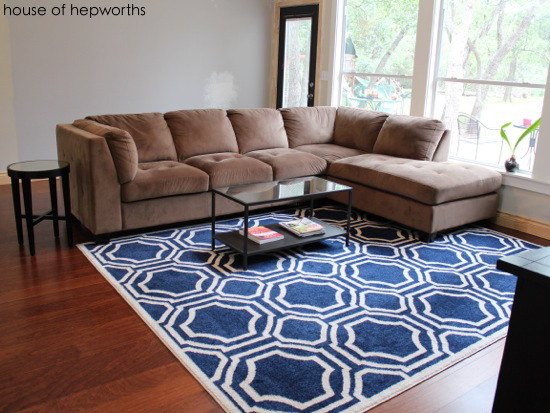 New $99 rugs in the family and dining rooms
