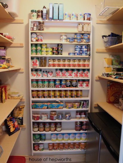 Awesome I Loaded All My Food Right Away To See How It Looked And To Test It Out.  When I Finally Finish Up The Pantry And Paint Everything I Will Also Paint  This ...