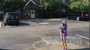 Our temporary housing video tour at Towneplace Suites Marriott