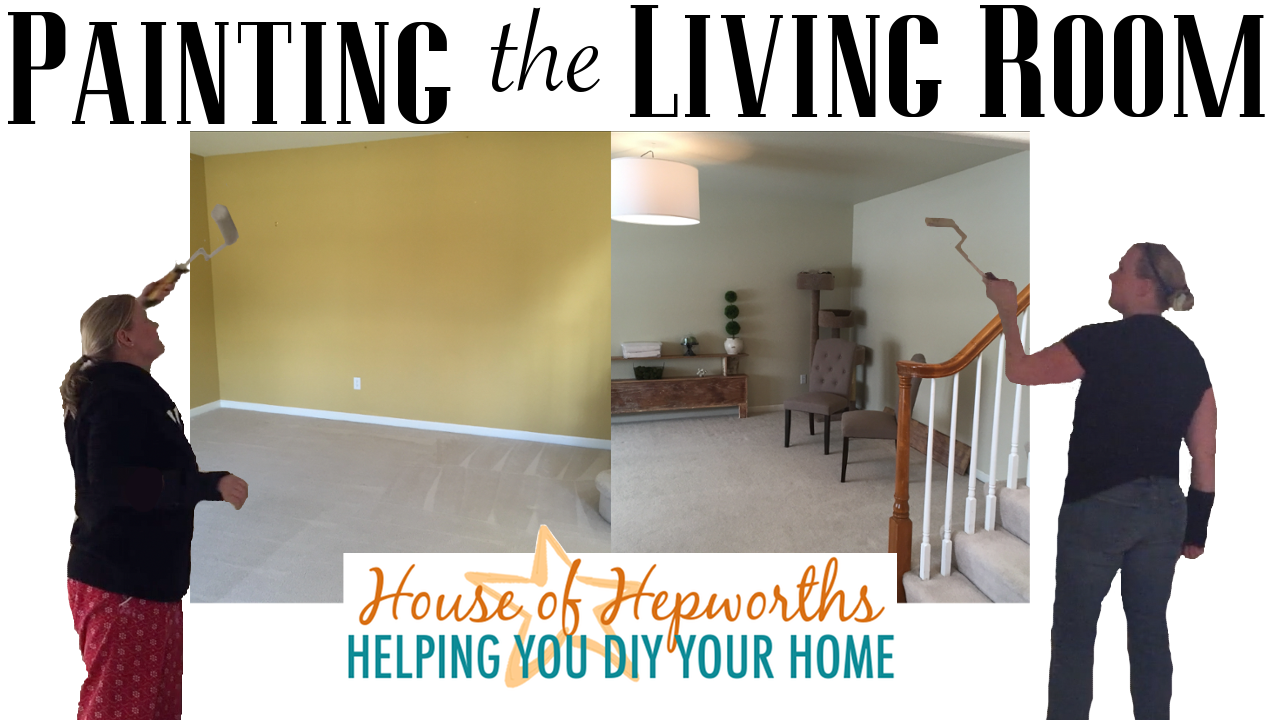 Painting the Formal Living Room – the process