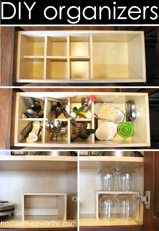 Make your own drawer dividers/organizers