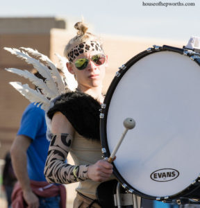 Indoor Percussion Ensemble – PRIMAL theme