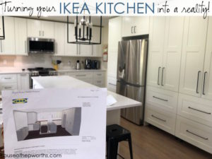 Building your own custom IKEA kitchen || the planning & ordering process