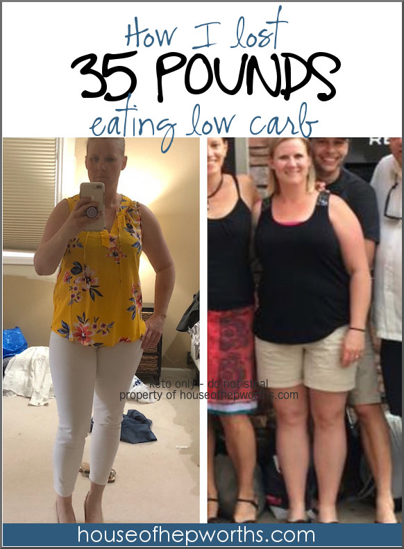How I lost 35 lbs eating keto / low carb (and how you can too!)