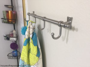 Quickest and Easiest way to hang rails/hooks/racks on your wall. Trust me.