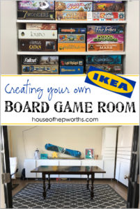 Turning a Formal Living into a BOARD GAME ROOM!