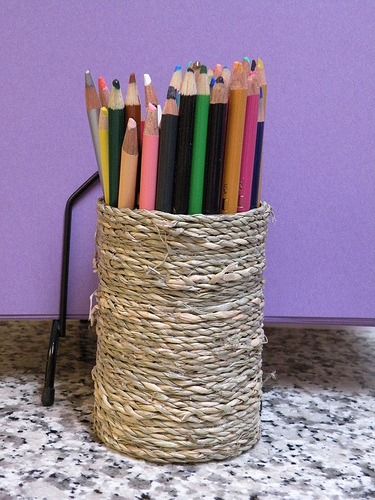 A can of beans? || DIY pencil holder