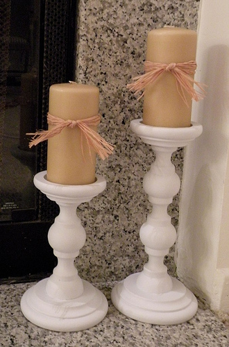 Wooden Candle Sticks