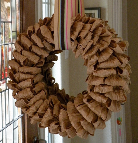 Martha inspired fall wreath