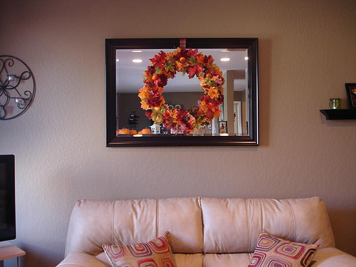 Reader Submission – Fall $ store wreath