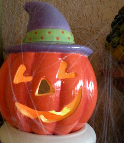 """H A Double-L O W Double-E N spells """"Halloween"""""""