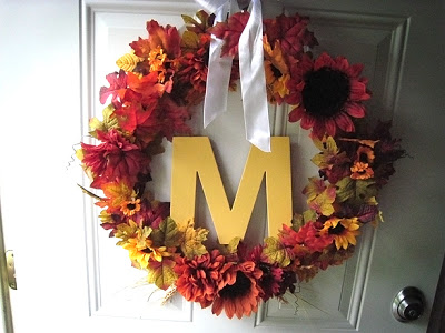 Round 3: Readers create wreaths & pumpkins