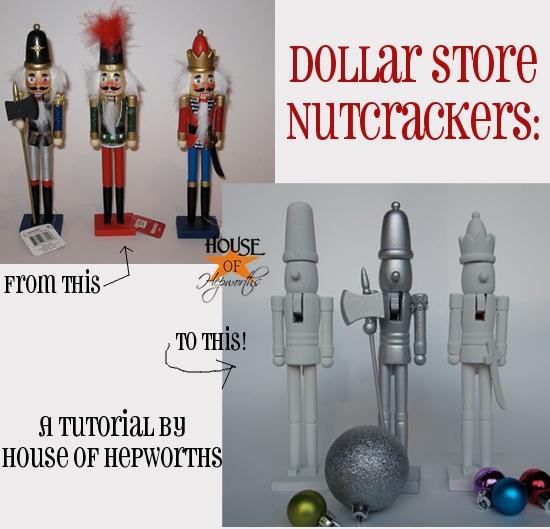 Novelty Nutcrackers, Dollar Store Style