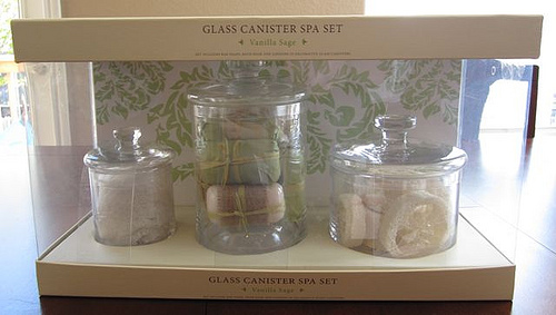 Apothecary jars on the cheap!