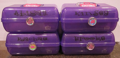 Personalizing a few Caboodles