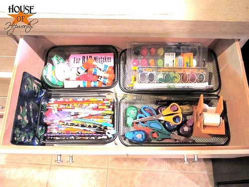 Organizing M&M's (Medicine & Markers)