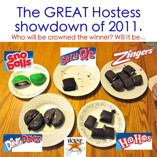 The Hostess Twinkie Challenge