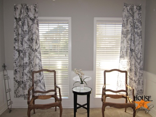 The method to my madness (piano room curtains, part 1)