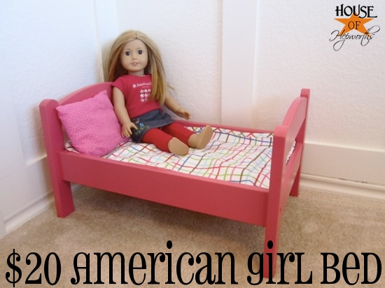 A {doll} bed fit for a Princess