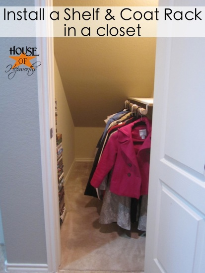 Finally, an official coat closet