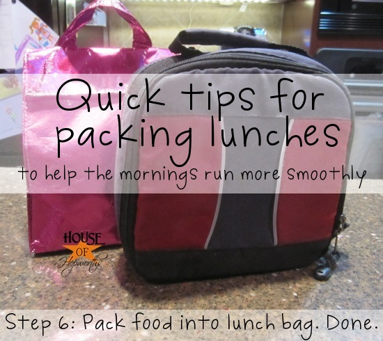 Organizing 101: Organizing School Lunches {gluten-free}